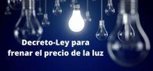 USO valora como tardío e insuficiente el Decreto para regular el precio de la electricidad