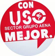 USO-Aena se mantiene como tercera fuerza sindical tras las elecciones dentro de la empresa
