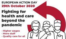 EPSU: Llamamiento a la movilización de los trabajadores de los servicios sanitarios y sociales
