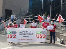 Concentraciones en Canarias contra el abuso de temporalidad