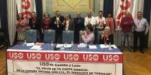 Marco Antonio Martínez, reelegido como secretario general de USO-Castilla y León