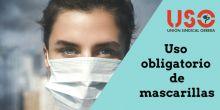 Sanidad regula el uso obligatorio de mascarillas para la población