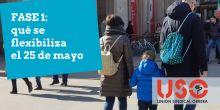 Fase 1: locales comerciales, paseos, deporte y otras novedades desde el 25 de mayo