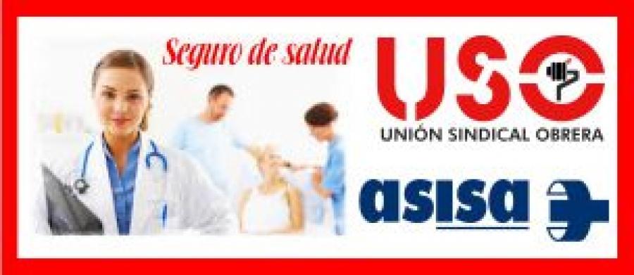 Acuerdo de asistencia sanitaria de USO con ASISA