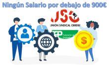 FEP-USO: Ningún salario en las AAPP por debajo de los 900€.
