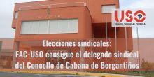 FAC-USO Galicia gana las elecciones del Concello de Cabana de Bergantiños