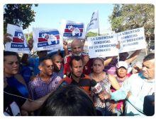 Los tres sindicalistas arrestados la semana pasada en Venezuela acaban de ser liberados.