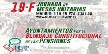 19 de febrero, nueva jornada de mesas unitarias de la MERP