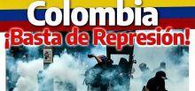 USO: ¡Basta de represión en Colombia!