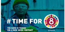 USO participa en la campaña #TimeFor8 de la CSI