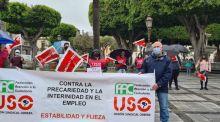 Canarias: Concentración Contra la Precariedad y la Interinidad En El Empleo