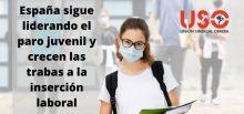 USO denuncia que España sigue liderando el paro juvenil