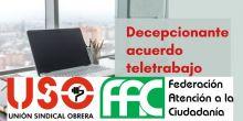 La nueva regulación del Teletrabajo: propaganda, marketing y más discriminación para las empleadas y empleados públicos