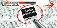 """Día de la Juventud 2019: """"Se busca emancipación"""""""