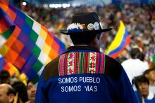 CSI: La resolución de la crisis política de Bolivia tiene que pasar por las urnas