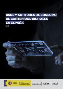 Usos y actitudes de consumo de contenidos digitales en España 2021