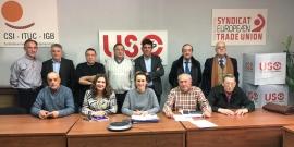 Marino de la Rocha, elegido presidente de AJUPE-USO