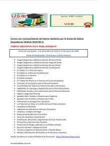 FAC-USO Galicia: Cursos con reconocimiento de Interes Sanitario por la Xunta de Galicia