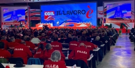 Maurizio Landini, nuevo líder al frente de la CGIL de Italia