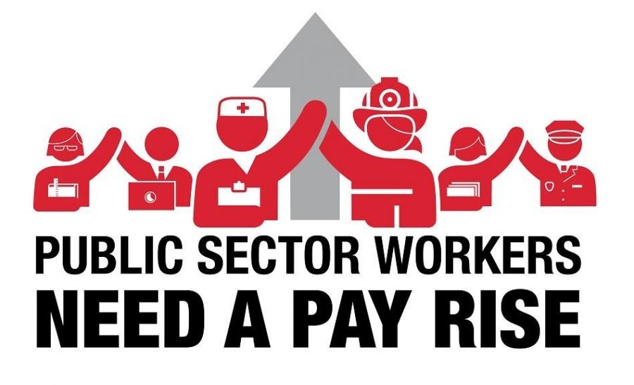 Después de 9 años de austeridad, los trabajadores del sector público en Europa piden un aumento!
