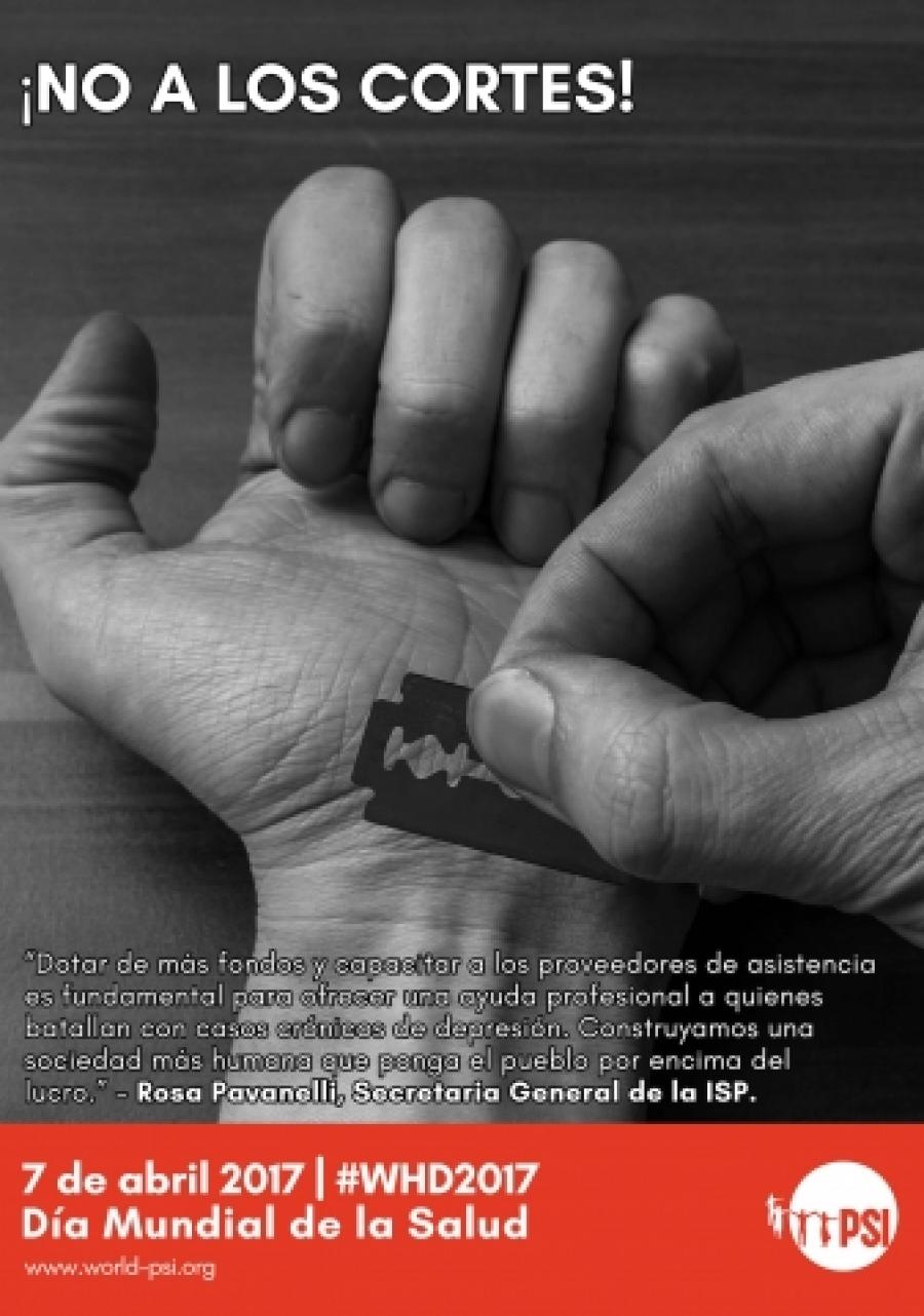 La opresión lleva a la depresión - Día Mundial de la Salud 2017