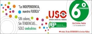 6º Congreso Federal FEP-USO: Sin colores, sin tendencias, solo sindicalistas