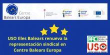 Éxito electoral de FAC-USO en las elecciones sindicales de Centre Balears Europa